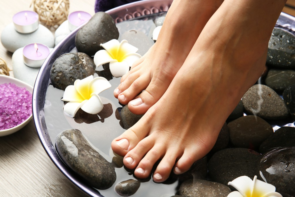 Rejuvenate and refresh your feet with one of Simply Blissed's pedicures